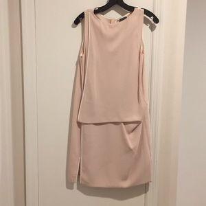 NWOT Calvin Klein pink shirt dress